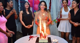 Menaka Maduwanthi Birthday Celebration